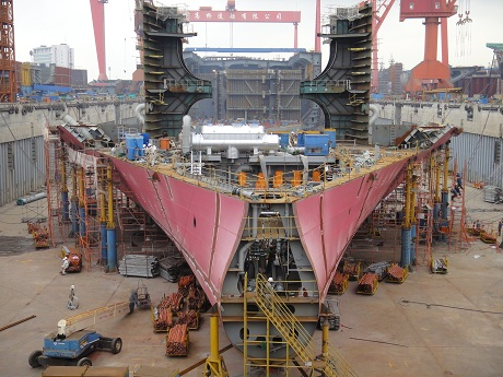 ship-in-construction-marintec-2015
