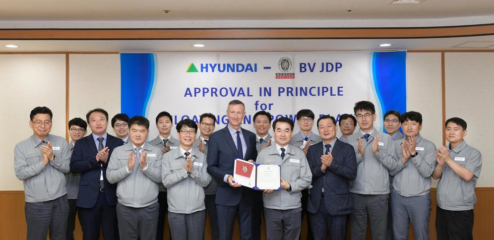 HHI granted Bureau Veritas Approval in Principle for Hi-FL2P
