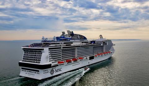 MSC MERAVIGLIA FIRST OF FOUR MSC Cruises to set sail