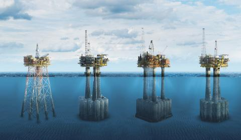 SHELL Decommissioning UK Continental Shelf