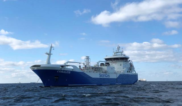 Small Scale LNG - CORALIUS - courtesy of Sirius Shipping