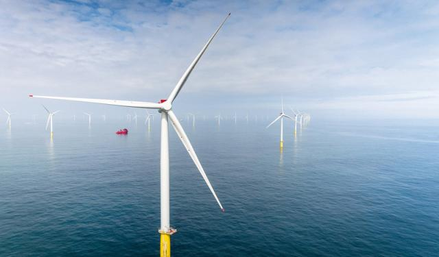 SUPPORTING THE ENERGY TRANSITION - Offshore Wind farms