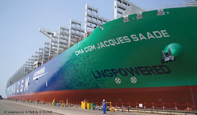CMA CGM  Jacques Saadé Delivery Ceremony