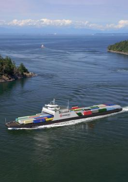 Hybrid Ferry - Seaspan classed by  Bureau Veritas
