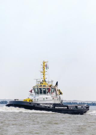 Tugboats - Courtesy Multraship  - Ship Classification