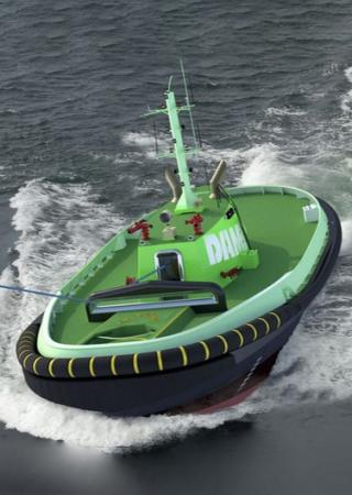 Autonomous Tugboat - Courtesy of Damen Shipyards