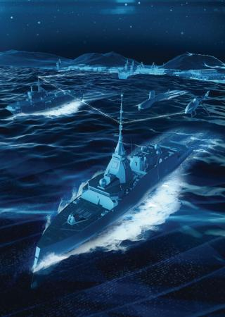 Cyber Security for Naval ships - Credit Naval Group